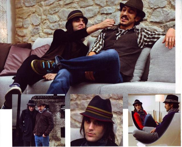 Los guapos en el catálogo de Stetson Rocks